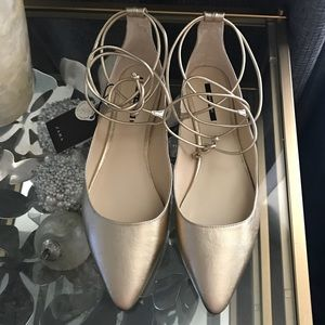 Zara basic ballet flats 10